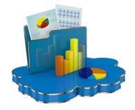 Analisys financeiros modernos Fotos de Stock