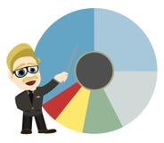 analityka biel mapy męski kulebiak target1666_0_ biel Fotografia Stock