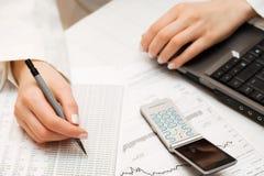 analiza pieniężna obraz stock