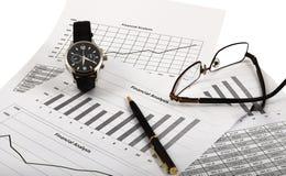 analiza rynek Fotografia Stock