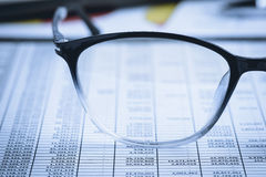 Analiza rynek papierów wartościowych zdjęcie royalty free