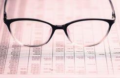 Analiza rynek papierów wartościowych obraz royalty free