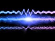 Analizador abstracto de sonidos libre illustration