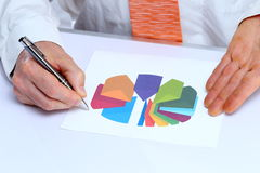 Analize in office Stock Photos