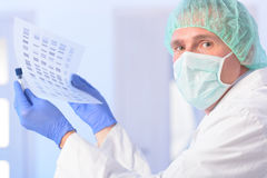 Analizing DNA Stock Images