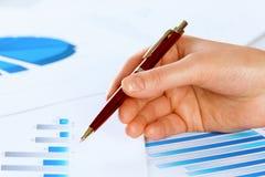 Analizować raport Obrazy Stock