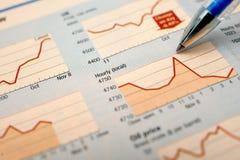 analizuje rynek Zdjęcie Stock