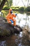 analizy eksperta woda Obraz Stock