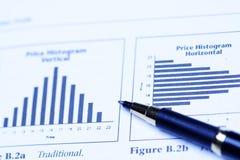 analizy inwestycji obrazy stock