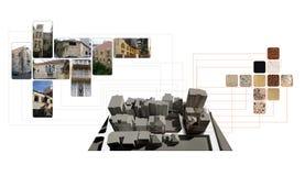 analizy miejsce royalty ilustracja