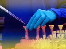 Analizy testowanie próbka Fotografia Stock