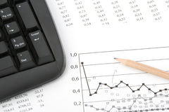 analizy udział w rynku Obraz Stock