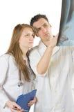 Analizzare radiografia Immagini Stock