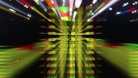 Analizzatore di spettro leggero dello zoom video d archivio