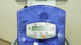 Analizzatore di trattamento del cancro di tomografia inclinazione archivi video