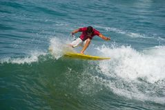 ANALOG 3/4 SURF CHALLENGE-FORTE DEI MARMI Stock Images