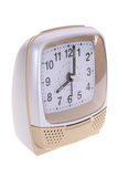 Analog alarm clock Stock Images