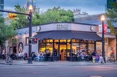 Analog Cafe Royalty Free Stock Photography