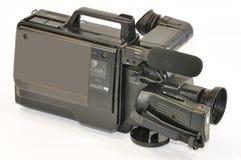 Analog camera. Analog video camera to VHS Stock Photo