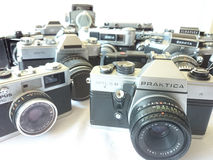 Analog camera. Royalty Free Stock Photo