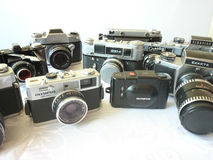 Analog camera. Stock Photography