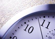 Analog clock Stock Images