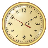 Analog Clock Royalty Free Stock Photo