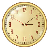 Analog Clock Royalty Free Stock Image