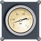 Analog dashboard royalty free stock images