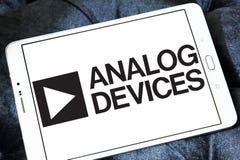 Analog Devices półprzewodnika firmy logo zdjęcie stock