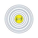 Analog dokumentacyjna ikona ilustracji