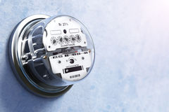 Free Analog Electric Meter On The Wall. Stock Photography - 73458072
