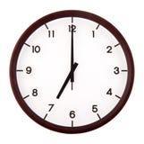 Analog klasyczny zegar zdjęcie royalty free