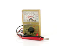 Analog multimeter Royalty Free Stock Photography