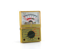 Analog multimeter Royalty Free Stock Photo