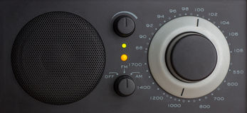 Analog Radio in FM Royalty Free Stock Photo