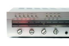 analog receiver silver Στοκ εικόνα με δικαίωμα ελεύθερης χρήσης