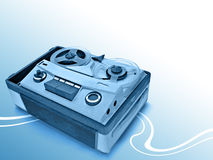 Analog recorder Stock Photography