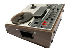 Analog Reel to Reel 02. Old analog Reel to Reel Tape Machine stock photography