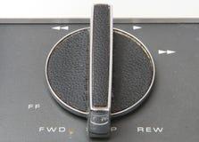 Analog Reel to Reel 06. Old analog Reel to Reel Tape Machine royalty free stock photography