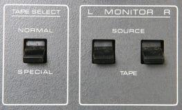 Analog Reel to Reel 07. Old analog Reel to Reel Tape Machine stock images