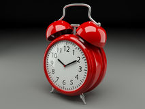 Analog retro alarm clock Stock Photo