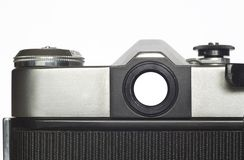 Analog SLR camera Royalty Free Stock Images