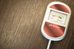 Analog soil ph meter Stock Photo