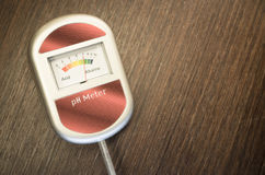 Analog soil ph meter Stock Images