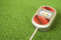 Analog soil ph meter Royalty Free Stock Photography