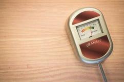 Analog soil ph meter Royalty Free Stock Photos