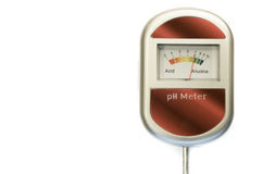 Analog soil ph meter Royalty Free Stock Images
