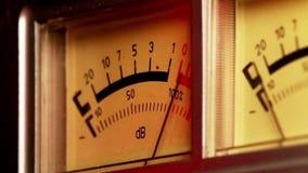 Analog sound meter