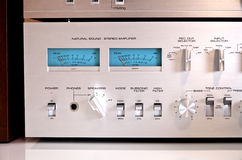 Analog Sound Recording Electronic Controls Royalty Free Stock Images
